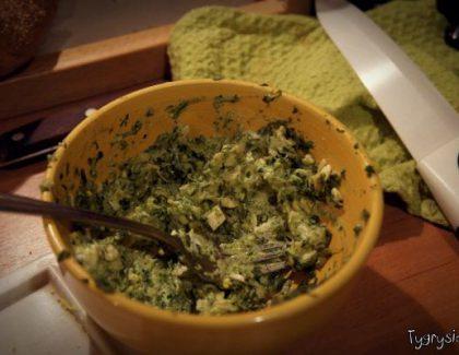 Pasta jajeczno-szpinakowa – Przepis
