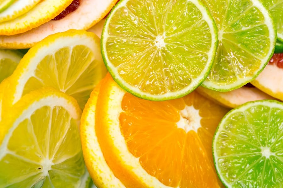 cytrusy - źródło witaminy C
