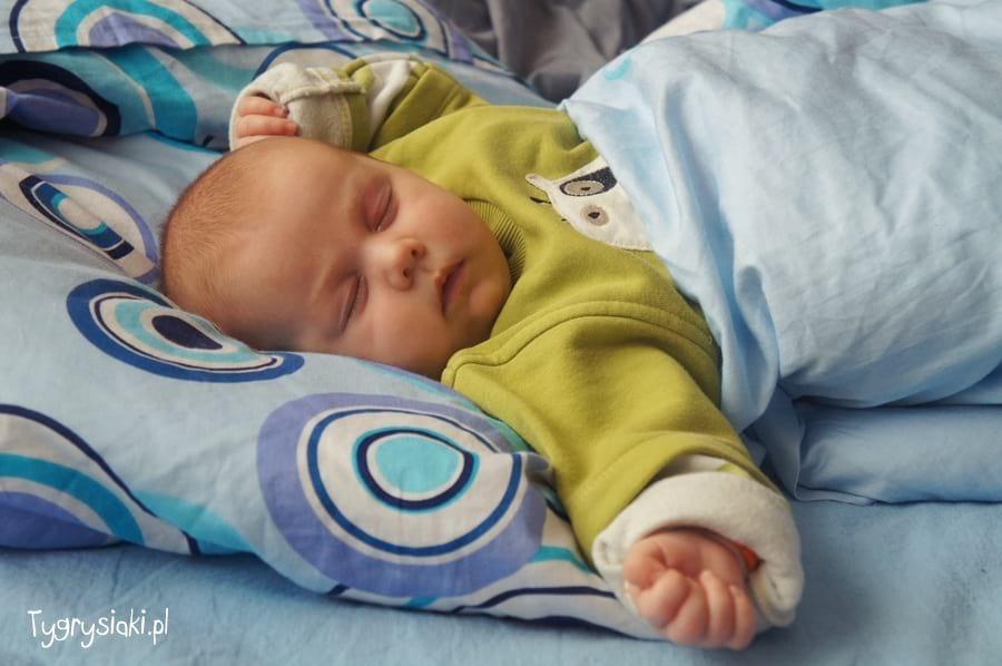 Śpiące niemowlę 1