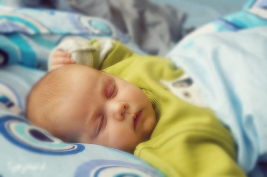 Śpiące niemowlę 2