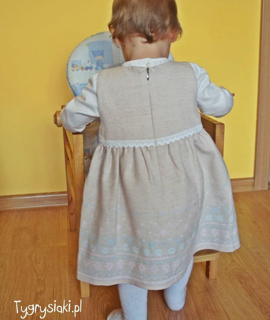 mmdadak - sukienka jelonek tył