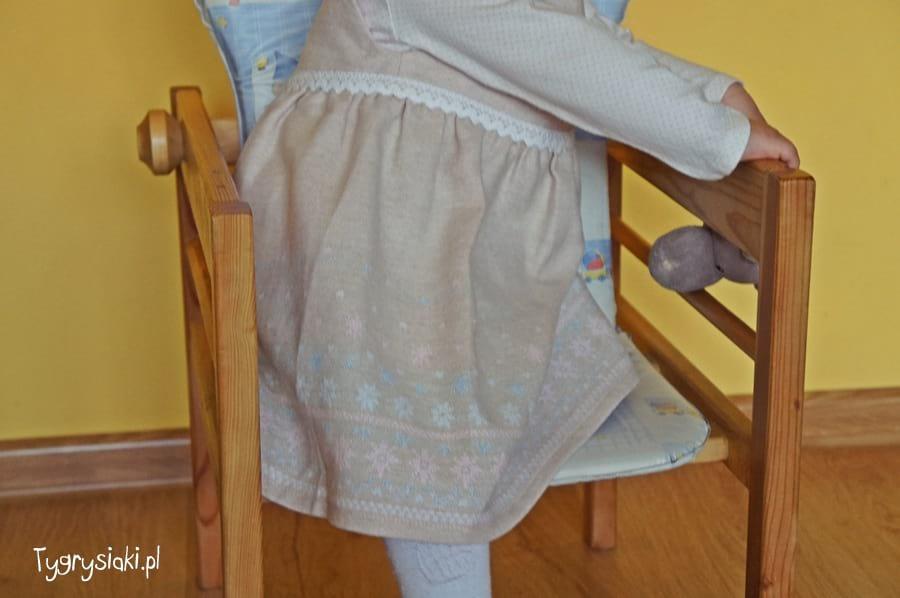 mmdadak - sukienka jelonek bok