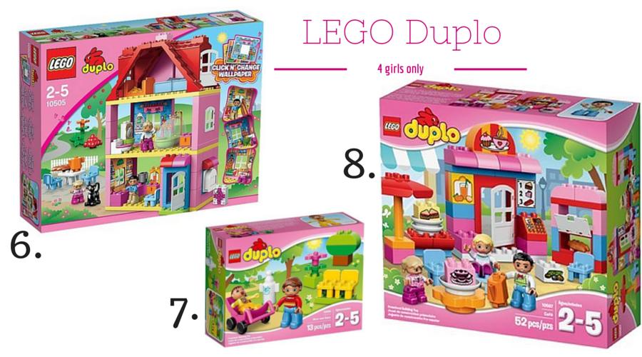 Klocki Lego Duplo różne zestawy dla dziewczynek