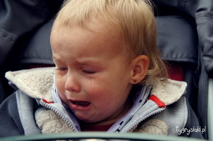 Gabrysia płacze