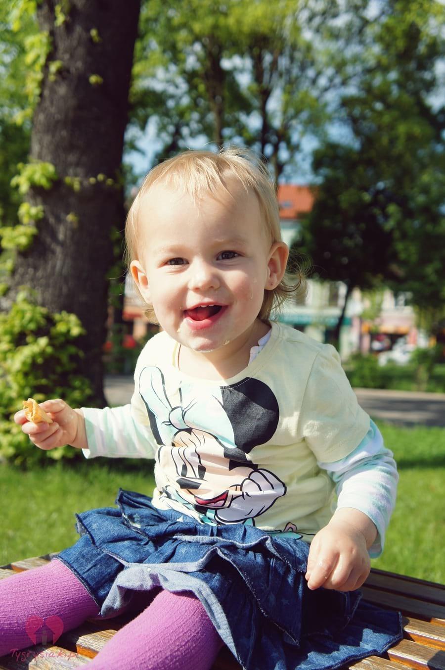 Gabrysia - uśmiech