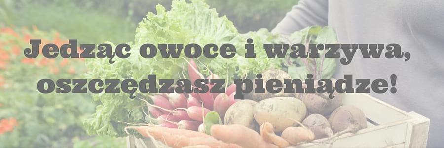 warzywa - oszczędność