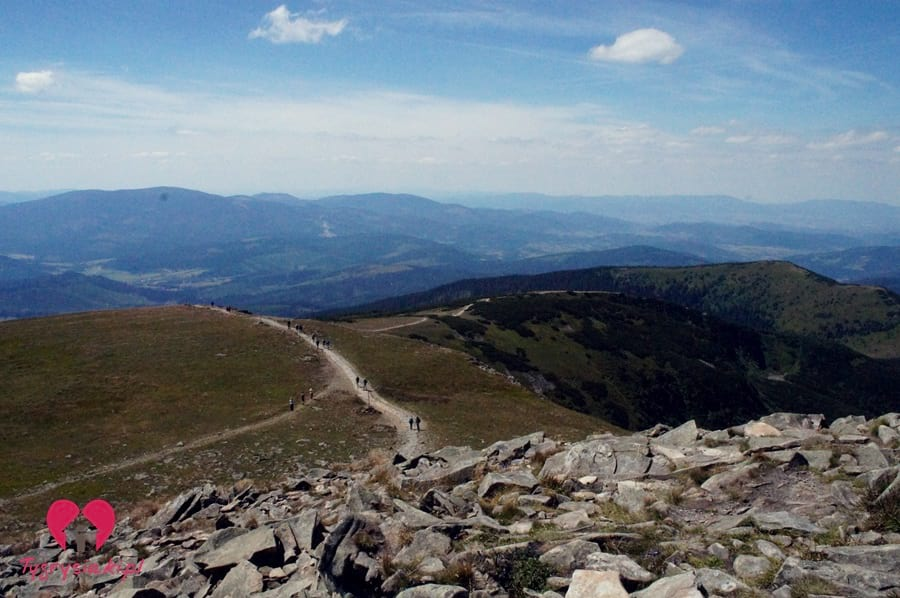 Szlak naBabią Górę