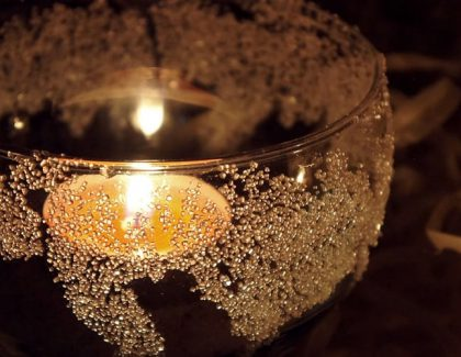 Cukrowe lampiony – ozdoby świąteczne DIY
