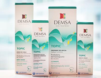Kosmetyki DEMSA Topic – test ikonkurs