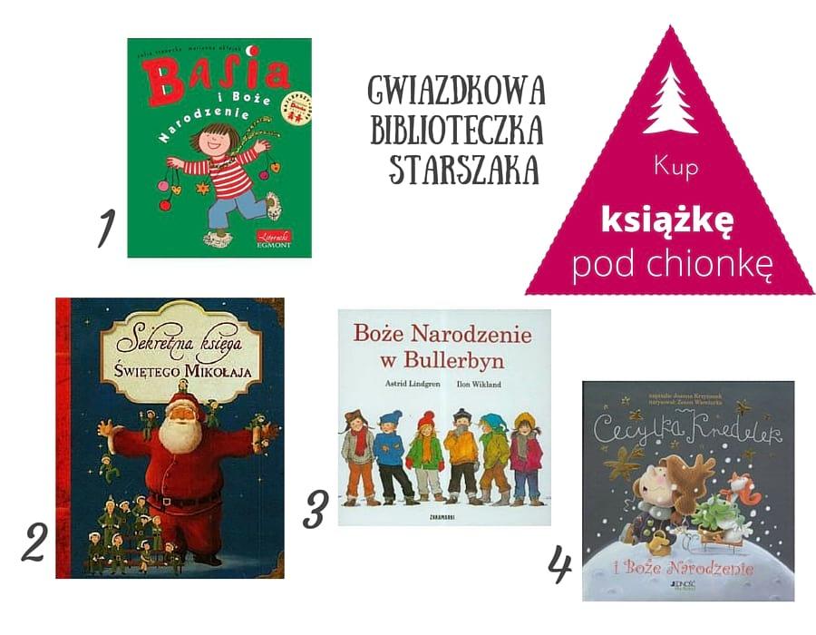 Książka dla dzieci podchoinkę