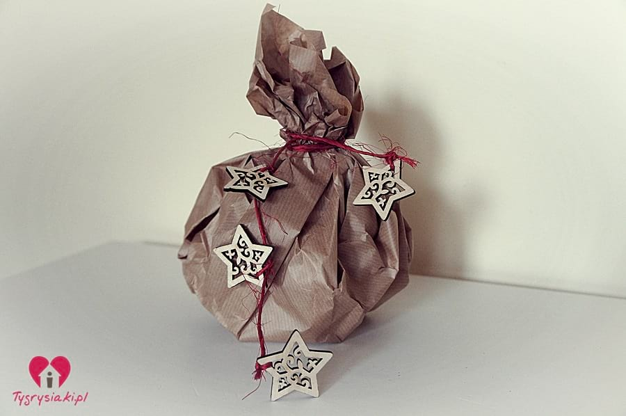 Prezent bombka - jak zapakować prezent