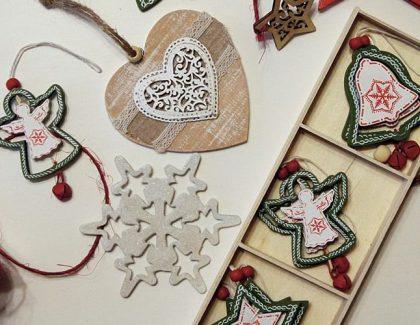 Świąteczne girlandy DIY