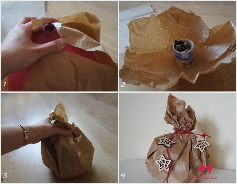 Jak zapakować prezent - bombka