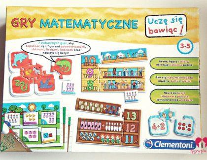 Gry matematyczne Clementoni – recenzja