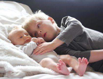 Rodzeństwo – trudne początki