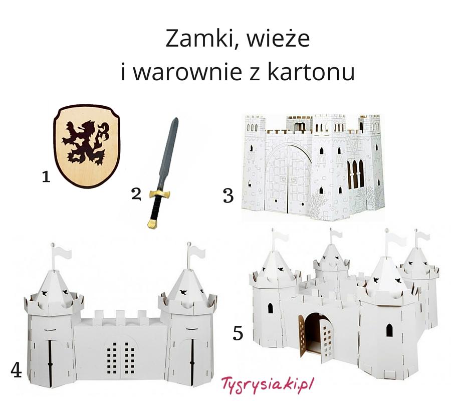 zamek-z-kartonu