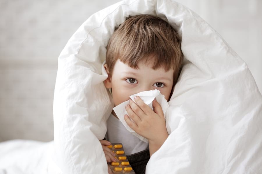 chore-dziecko-grypa