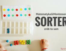 Sorter dla dziecka – zabawka DIY