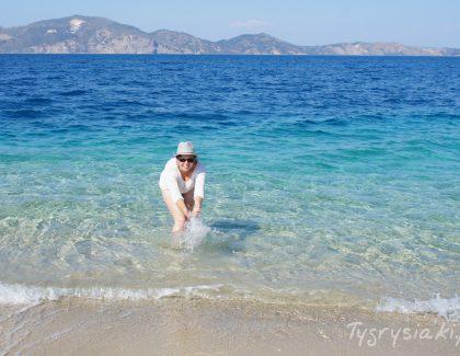 Marathonisi – najpiękniejsza plaża, najakiej byłam!