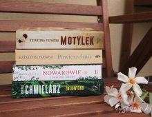 Książki, które polecają się nawakacje. Dla mamy itaty.
